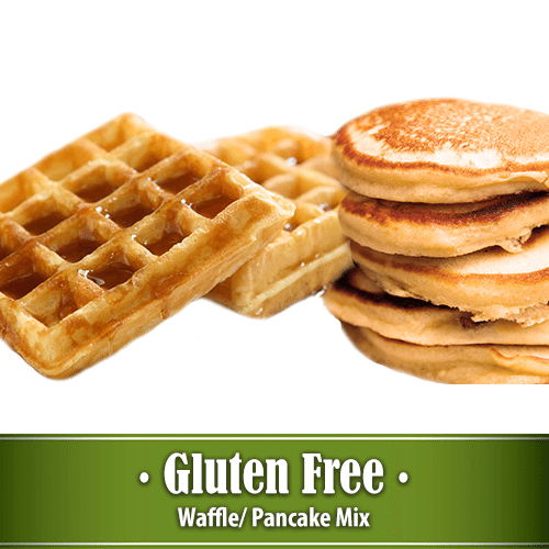40 Ounce Vanilla Waffle/Pancake Gluten Free – Two Packages