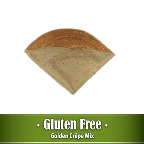 Golden Crepe Mix Gluten Free