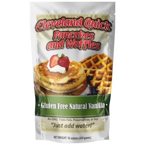 16 Ounce Vanilla Waffle/Pancake Gluten Free