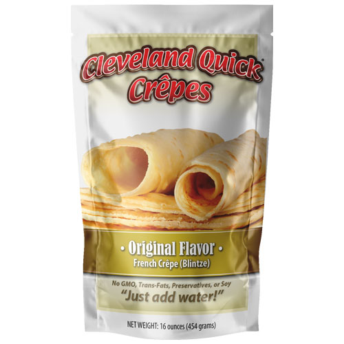 Original Crepe Mix – Five 16 ounce Packages