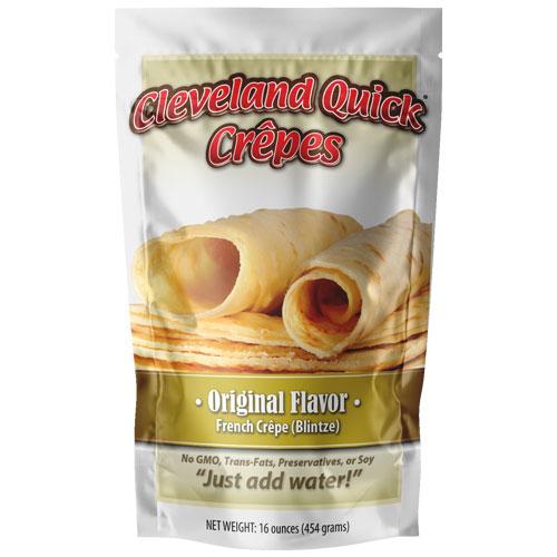 Original Crepe Mix – Five 16 ounce Packages