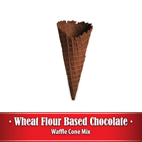 Chocolate Waffle Cone